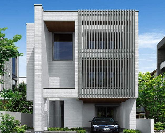 積水ハウスの3階建て住宅【フレキシブル3・4階】