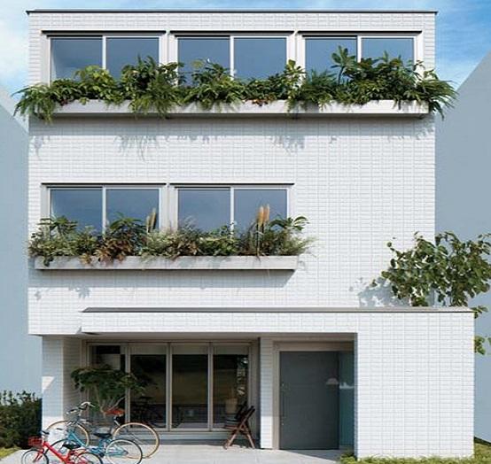 へーベルハウスの3階建て住宅【テラクラフト(terra craft)】
